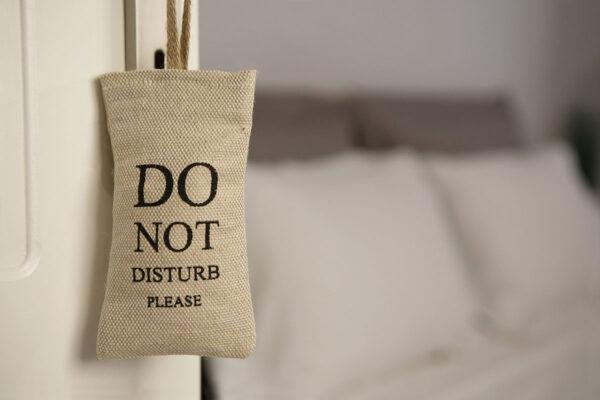 Πουγκάκι Do Not Disturb Γιούτα
